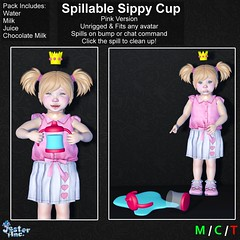 Presenting the new Spillable Sippy Cups from Jester Inc.
