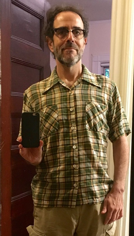 Daily Green Plaid Shirt Project
