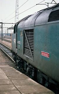 40012 AUREOL Crewe 20-2-1983