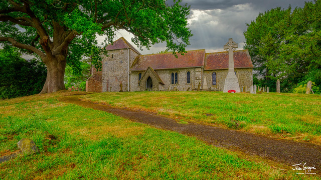 St Mary's Church in Bepton under the Downs in the South Downs National Park