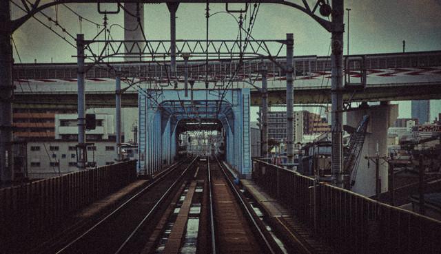 Hanshin's Nanba line, Osaka, Japan 阪神なんば線、大阪