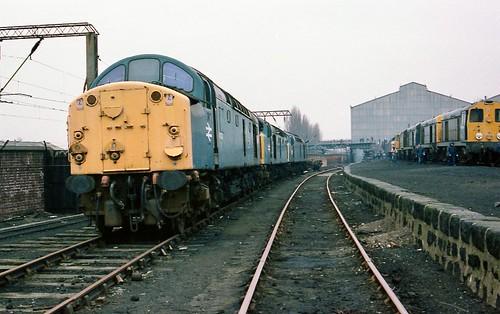 40023 Crewe Works 20-2-1983