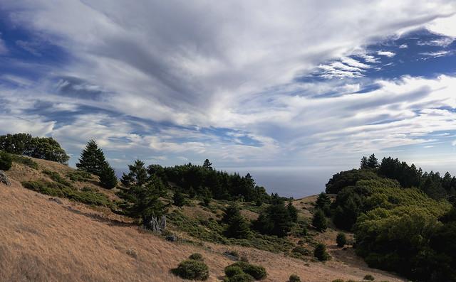 Panoramic and HDR:  Matt Davis trail