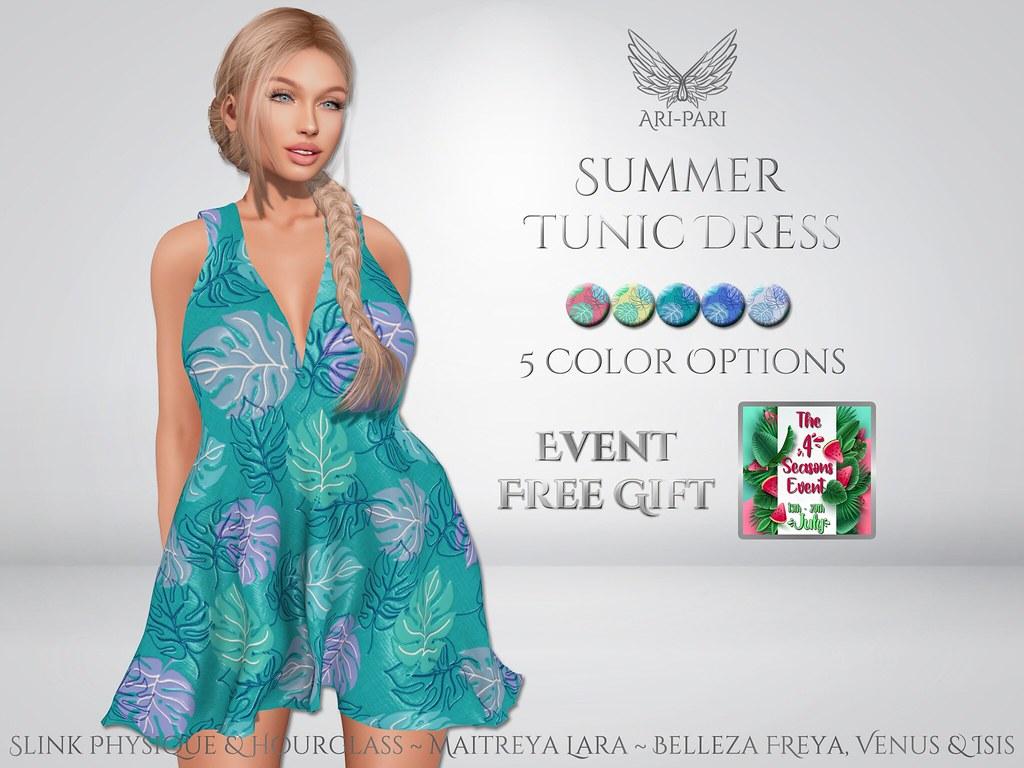 [Ari-Pari] Summer Tunic Dress