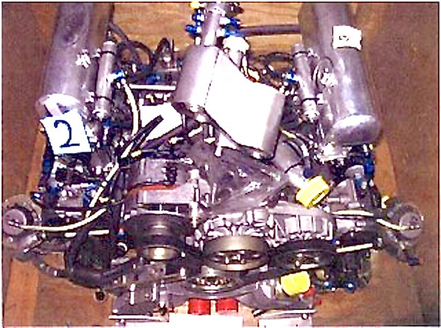 Porsche GT1 Spare #002 customer engine  4x (1)