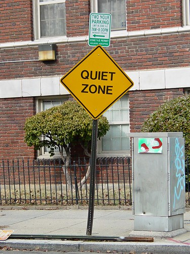 Quiet Zone sign [02] | by SchuminWeb