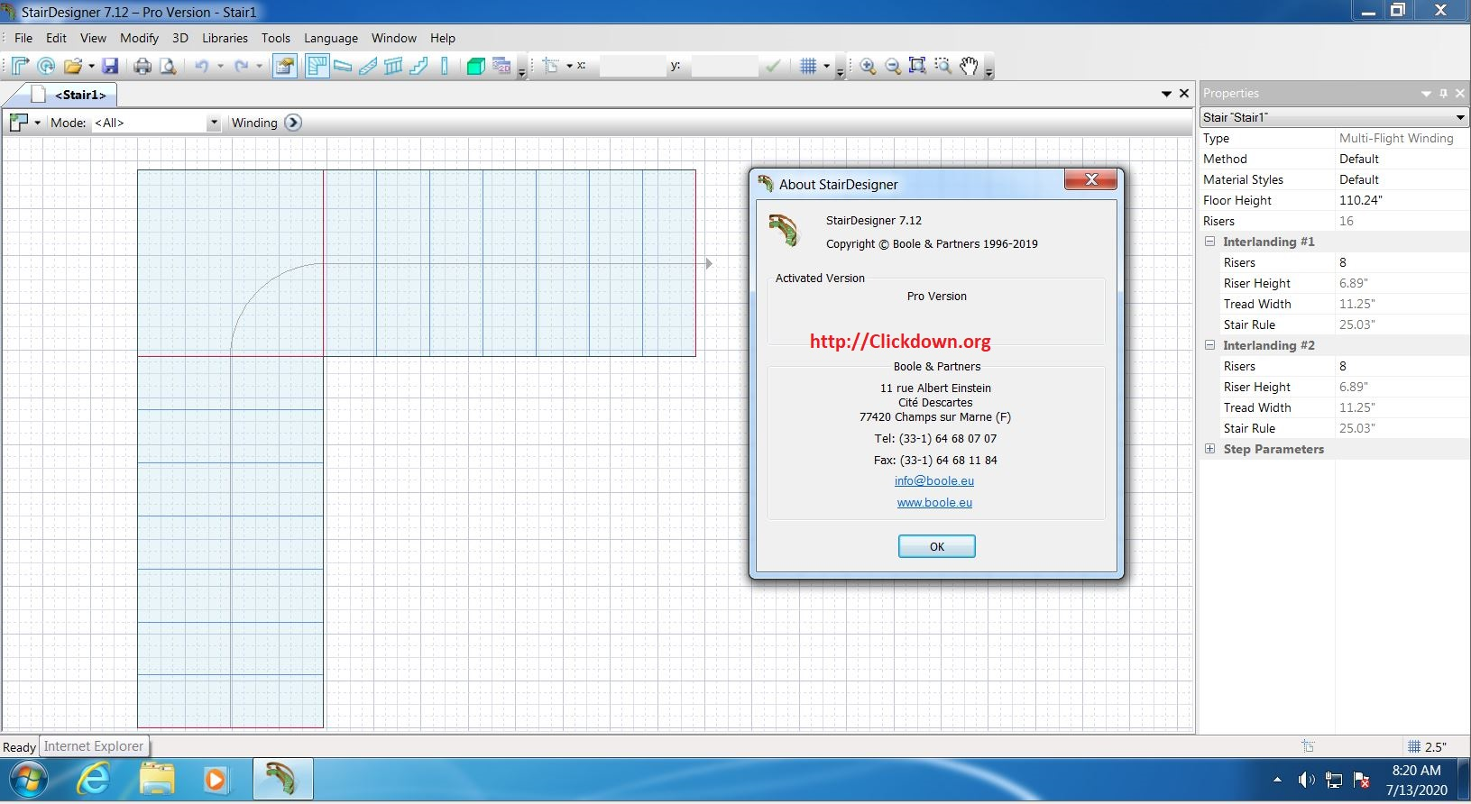 Working with StairDesigner Pro-PP 7.12 full license
