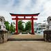 Second Torii Gate of of Tsurugaoka Hachimangu Shrine : 鶴岡八幡宮二の鳥居