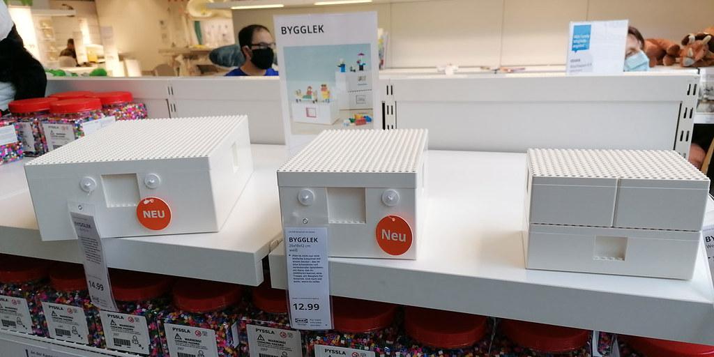 【LEGO × IKEA】可以玩的收納櫃,全新傢俱系列「BYGGLEK」曝光!