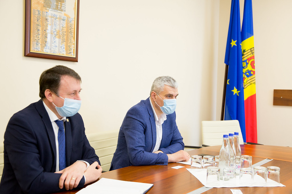 13.07.2020 Întrevederea  vicepreședintelui Parlamentului, Alexandru Slusari, cu  Marko Shevchenko, Ambasadorul Ucrainei în  Moldova