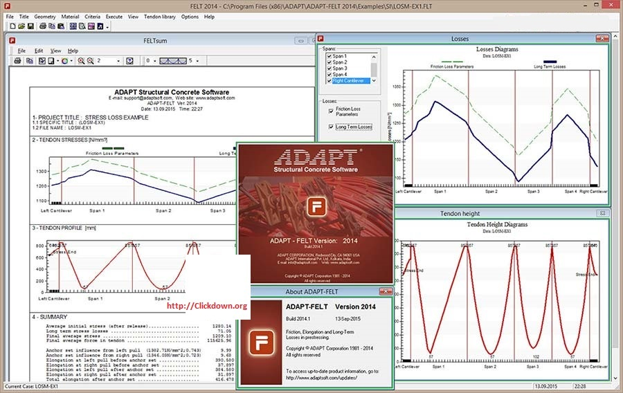 Working with ADAPT-FELT 2014.1 full license