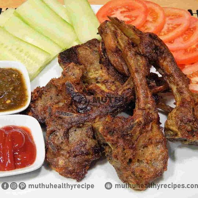 Mutton Chops Fry Recipe