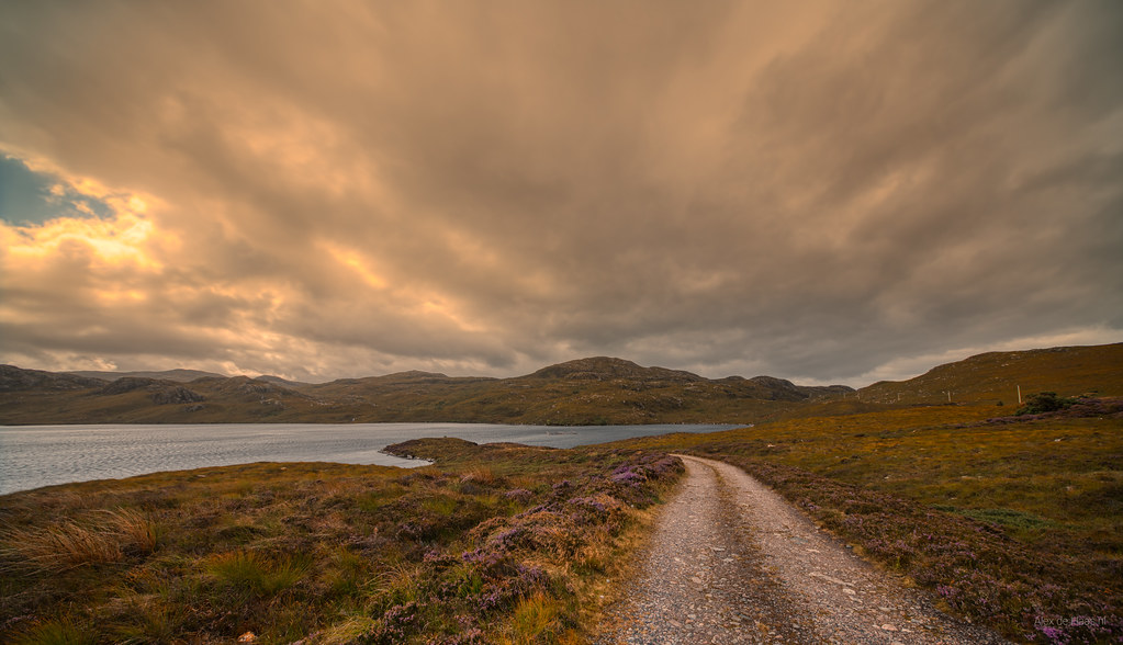 Road to Loch Tollaidh.