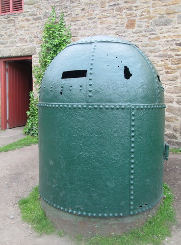 Beamish, Pillbox Made From a Boiler