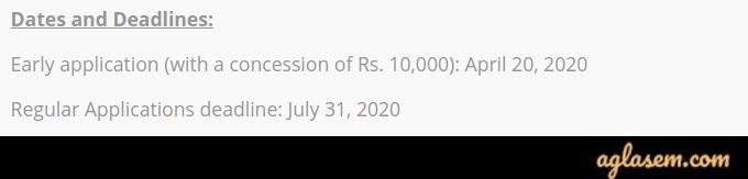 IIJNM 2020 Application Form Extension