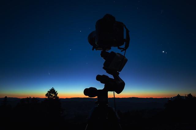 Comet Capturing Gear