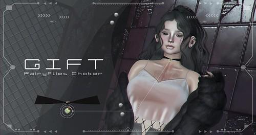 [AiiZawa] FairyFlies Choker - GIFT