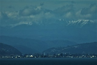 Tararuas from Wellington | by Fraser P