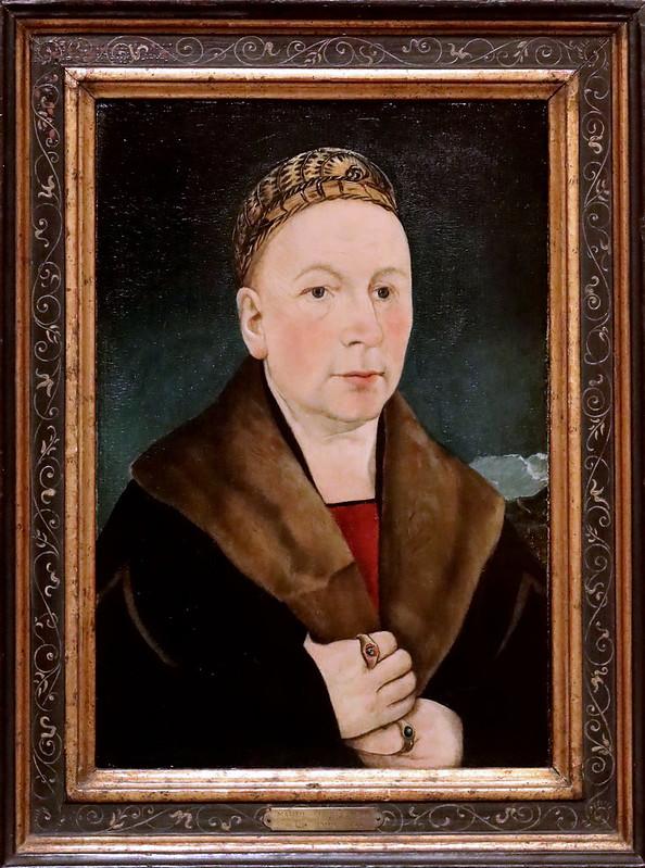 IMG_3342F Martin Schaffner 1477-1549 Ulm Portrait of a man (Sébastien Gessler) 1515  Madrid  Musée Thyssen Bornemisza
