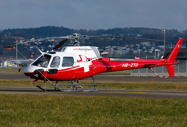 HB-ZTO Swiss Helicopter AG Airbus Helicopters H125 (AS350B3)