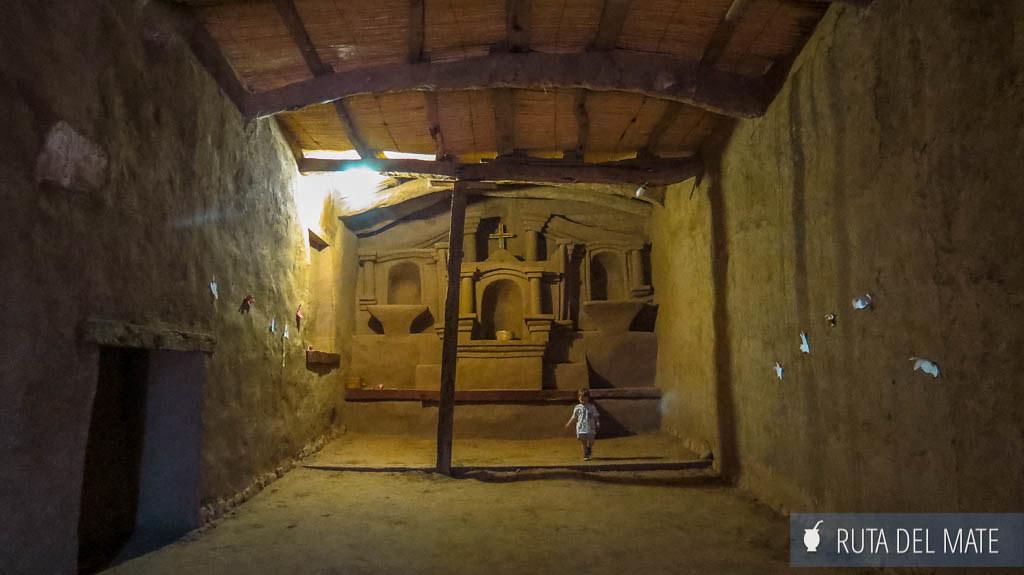 Iglesia Nra Sra del Rosario en Anillaco, por dentro