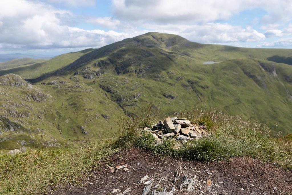 Summit of Beinn Each