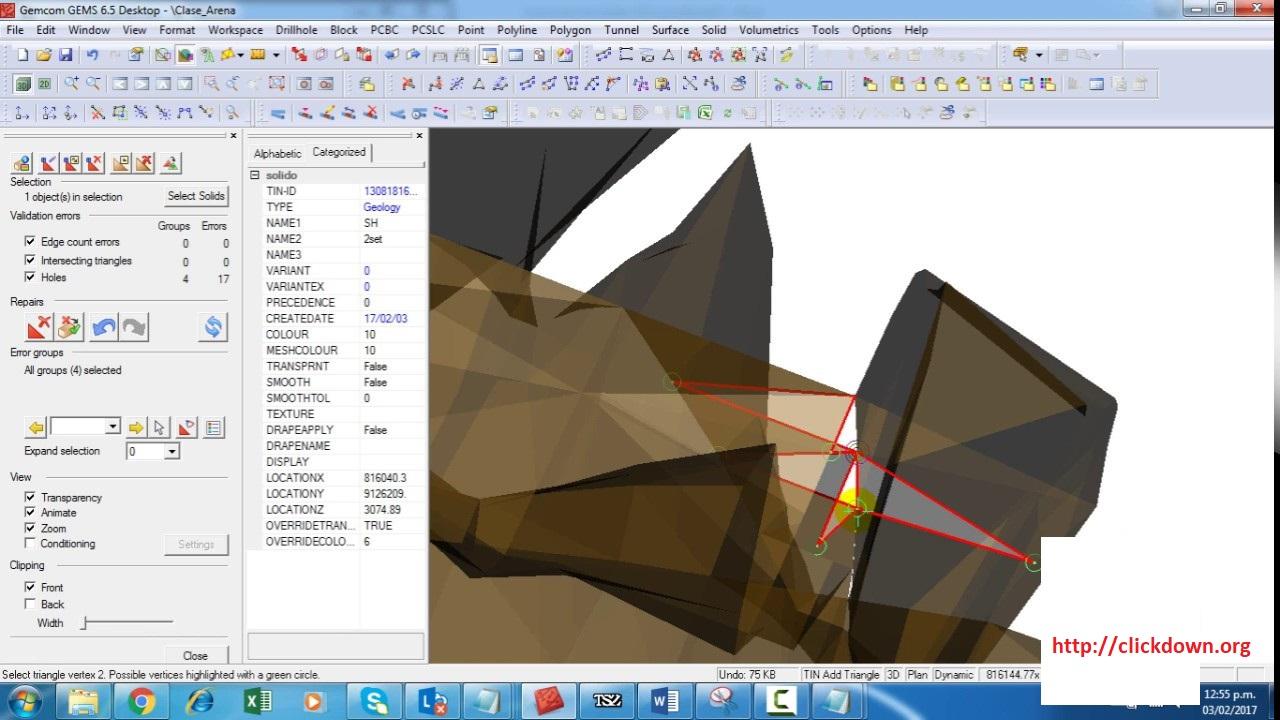 Working with Gemcom GEMS 6.5 full license