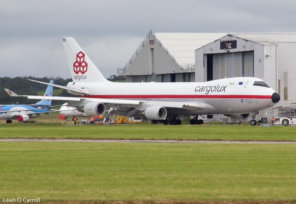 Cargolux B747F LX-NCL (Retro Livery)