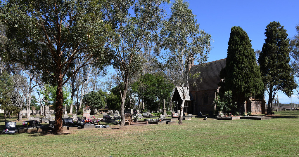 Rossmore Anglican Church Cemetery, Rossmore, Sydney, NSW.