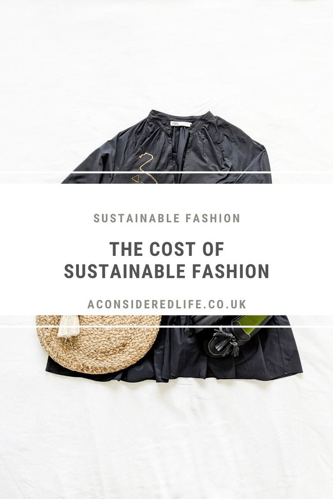 The Cost Of Sustainable Fashion