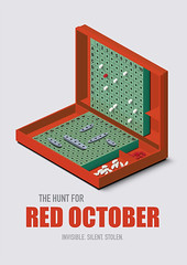 The Hunt for Red October - Alternative Movie Poster