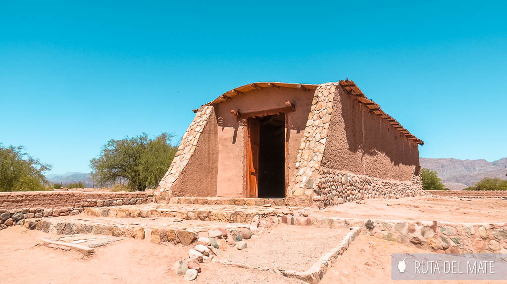 Iglesia Nra Sra del Rosario en Anillaco, Ruta del Adobe en Catamarca