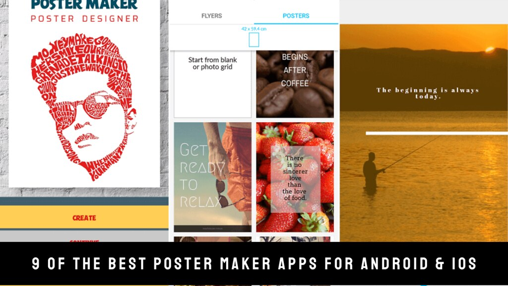 9 Of The Best Poster Maker Apps For Android & iOS