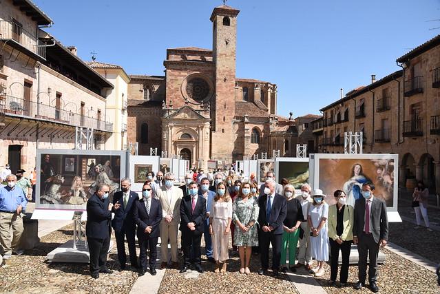 """Inauguración de la exposición """"El museo del Prado en Sigüenza"""""""