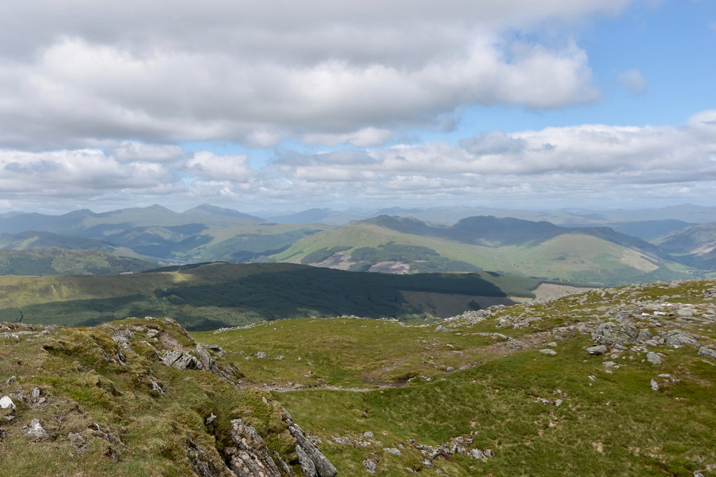 The Highlands from Stuc a' Chroin