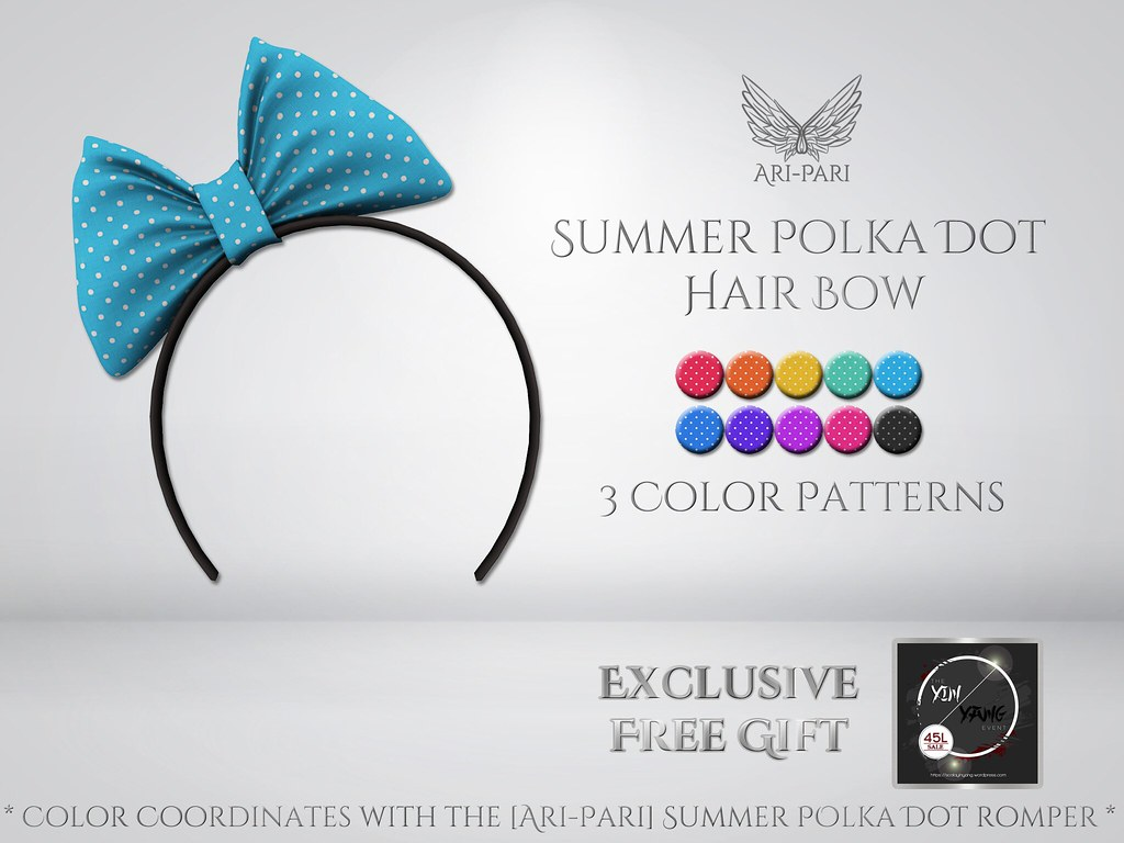 [Ari-Pari] Summer Hair Bow