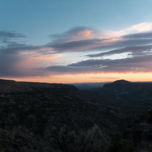 sunrise whiterockoverlook whiterock losalamos newmexico