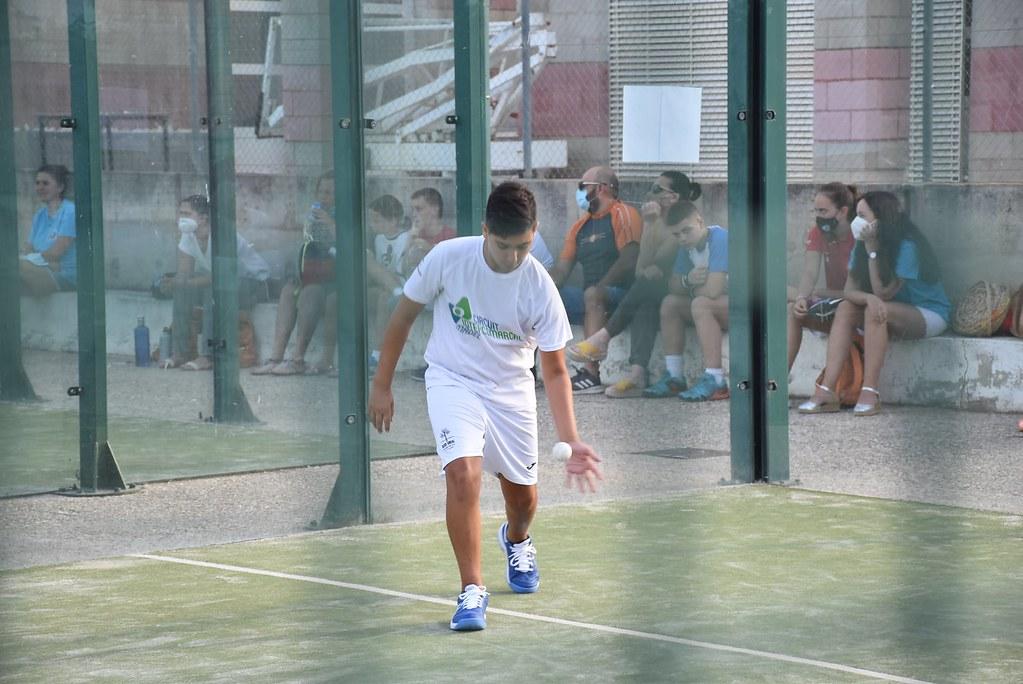 Izan, semifinalista de la Categoria Infantil. Foto: Ajuntament de Carlet