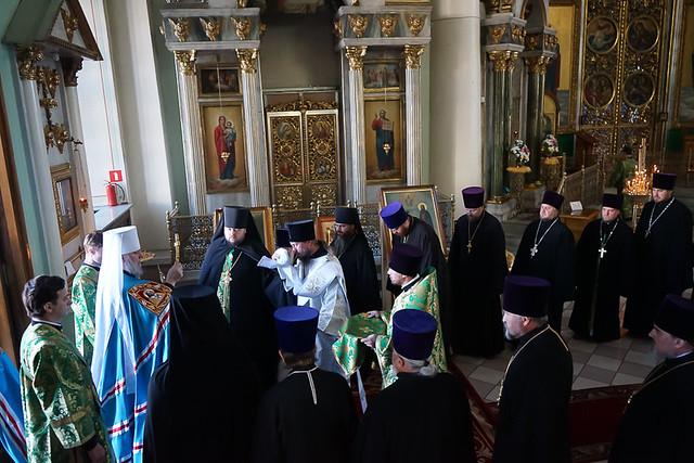 День тезоименитства митрополита Курского и Рыльского Германа 11.07.2020