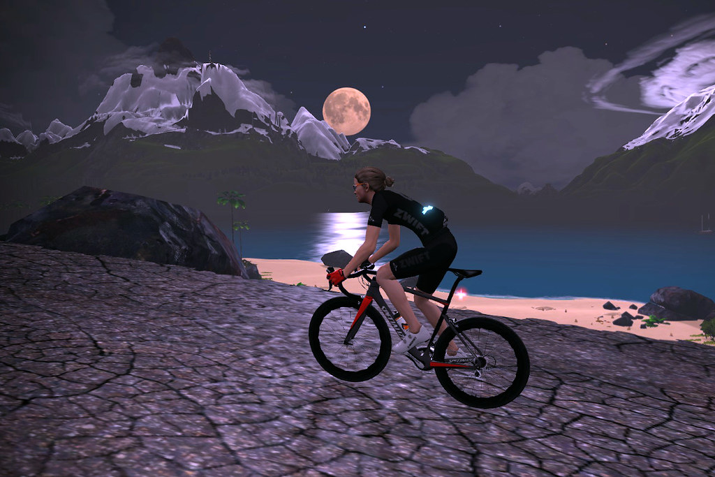 Moonlight on the Volcano