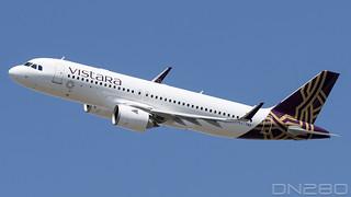 Vistara A320-251N msn 9572 VT-TNX