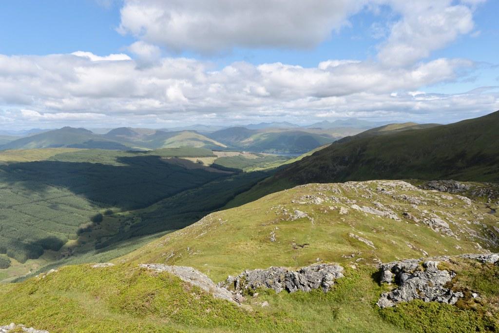 Glen Ample and Loch Earn