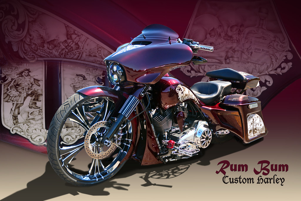 Rum Bum - Captain Morgan's Custom Harley