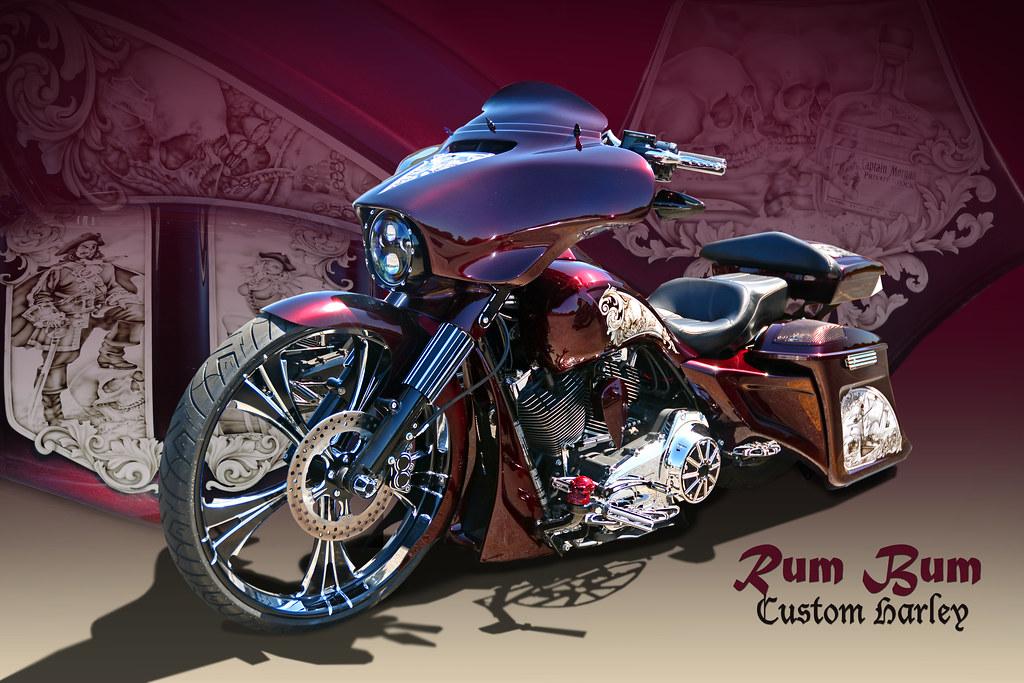 Rum Bum - Captain Morgan's Custom Harley