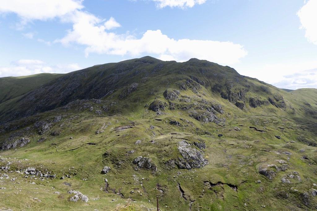 The southwest ridge of Stuc a' Chroin