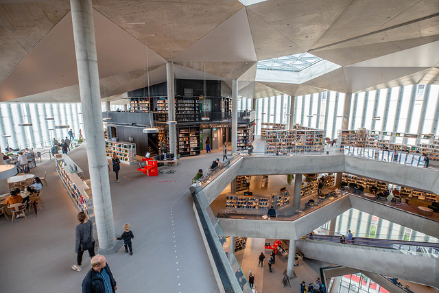 The new Deichman Main Library in Oslo