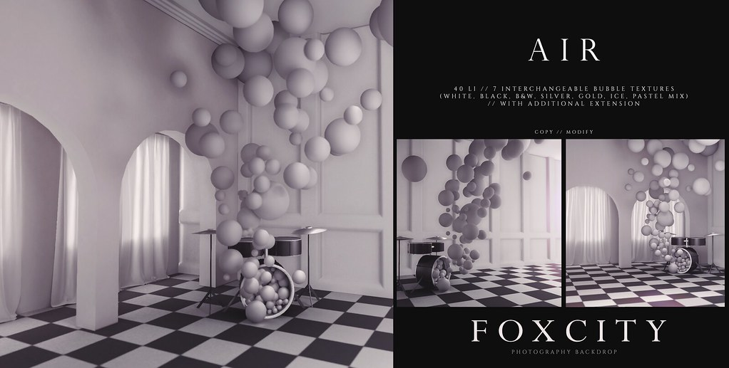 FOXCITY. Photo Booth – Air