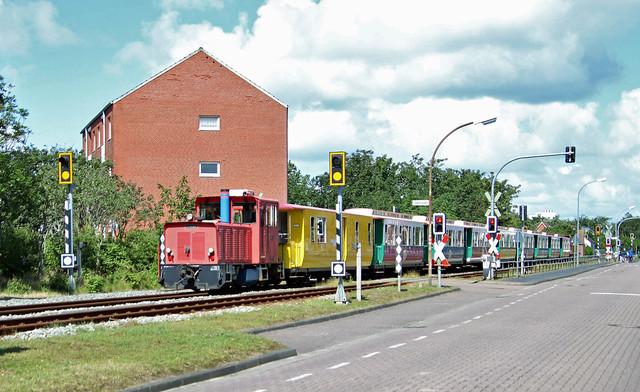 Borkum Island narrow gauge railroad