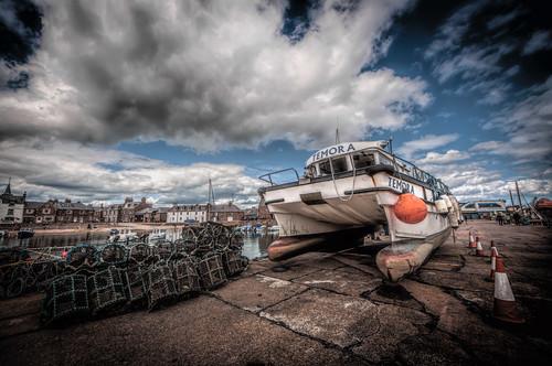 Temora at Stonehaven Harbour