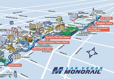 Las Vegas Metrorail Map